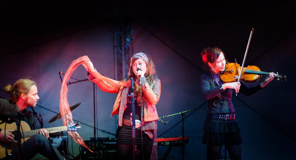 Foto von der Band The Penrose Trio live